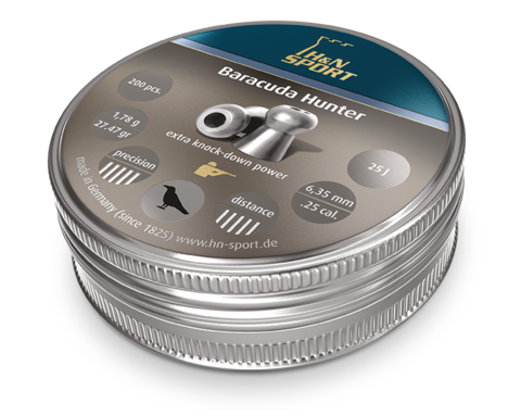 H&N Baracuda Hunter 6,35/1,78