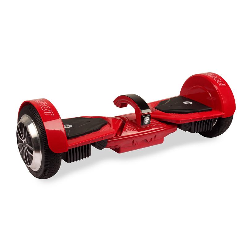 Hoverbot A16 красный (приложение + усиленная рама + экран + фара + съемная АКБ + Bluetooth-музыка + сумка) - 6,5 дюймов, артикул: 744313