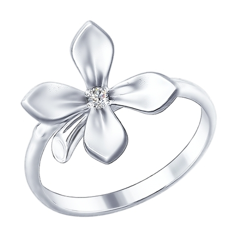 Кольцо  из серебра коллекция ЭКО от  SOKOLOV арт.94012283