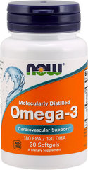 NOW Omega-3 1000 мг (30 капсул)
