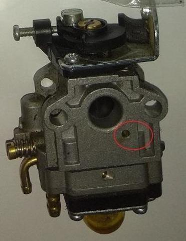 Карбюратор DDE триммера GB26RD/ GB33RD