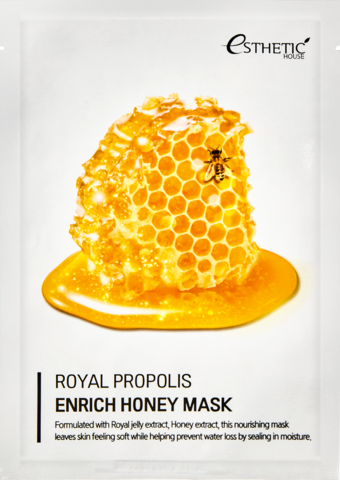 ESTHETIC HOUSE ROYAL PROPOLIS ENRICH HONEY MASK маска для лица, 25 мл