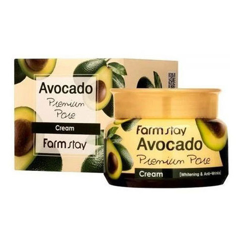 Farmstay Avocado Premium Pore Cream - Крем-лифтинг с экстрактом авокадо