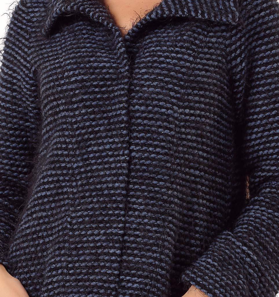 Пушистый женский халат Rosapois