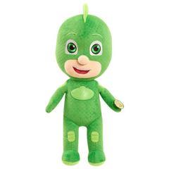 Говорящая Мягкая Игрушка Гекко (Gecko) 35 см - Герои в Масках,  Just Play