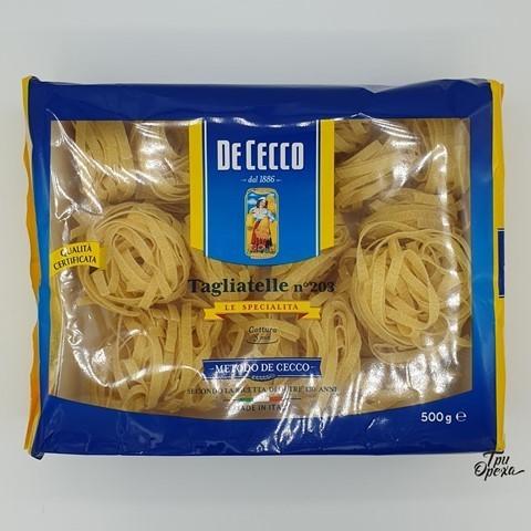 Макароны гнезда Тальятелле Tagliatelle DE CECCO, 500 гр