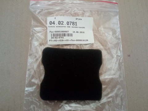Фильтр воздушный DDE GB33RD/GB43RD