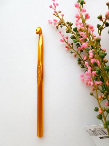 Крючок для вязания 4,5 мм. (металл)