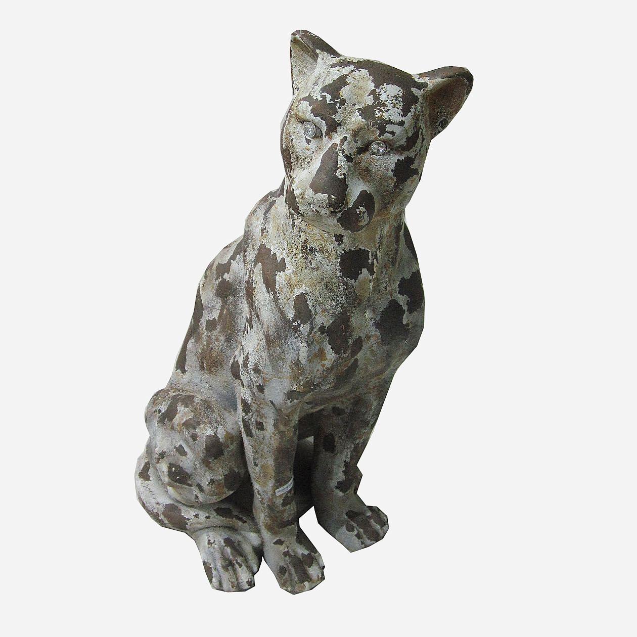 Статуэтка Decor Леопард сидящий 86517AW