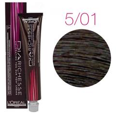 L'Oreal Professionnel Dia Richesse 5.01 (Светлый шатен натуральный пепельный) - Краска для волос