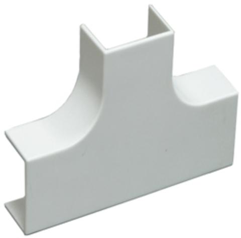 RMT Угол Т-образный стандарт TIA 20/10. Цвет Белый. Ecoplast (ЭКОПЛАСТ). 72401R