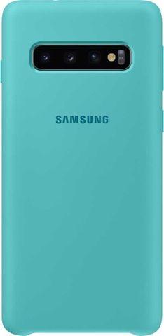 Чехол SAMSUNG Silicone Coverдля Samsung Galaxy S10, зеленый