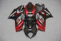 Комплект пластика для мотоцикла Suzuki GSX-R1000 07-08 Черно-Красный