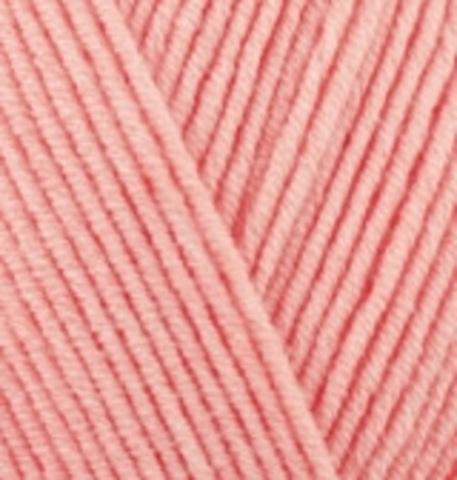 Пряжа Cotton gold (Alize) 460 Розовый абрикос