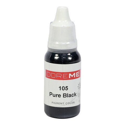 Пигменты #105 Pure Black DOREME 15ml