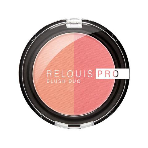 Румяна компактные Relouis Pro Blush Duo тон 201