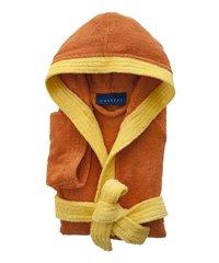 Халат детский махровый Caleffi Young оранжевый