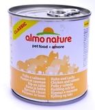 Almo Nature Classic Adult Cat Chicken&Salmon Консервы для кошек с курицей и лососем 12х280 г. (20069)