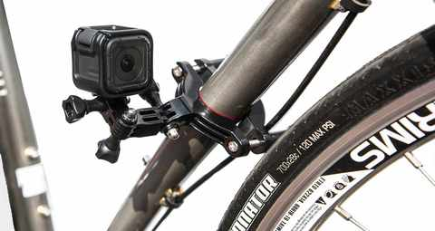 Крепление на трубу/раму диаметром 3.5 см до 6.35 см GoPro GRBM30 Roll Bar Mount на велосипеде