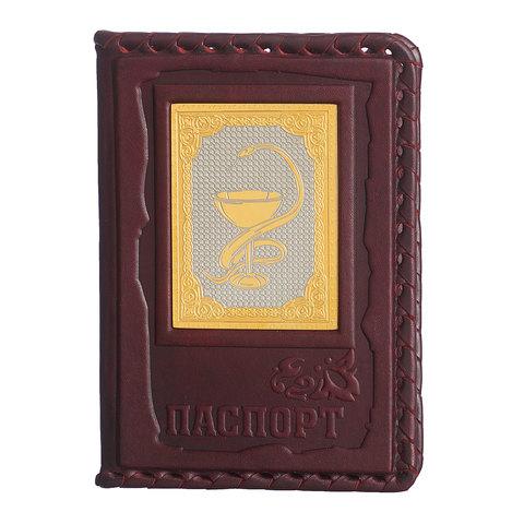 Обложка для паспорта «Медику» 3