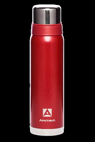 Термос Арктика (0,9 литра) с узким горлом американский дизайн, красный