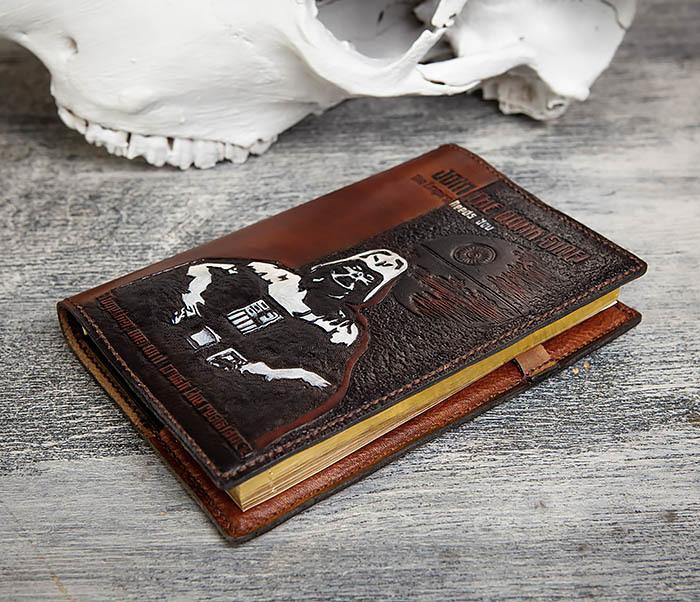 BC201 Ежедневник ручной работы изображением Дарта Вейдера (A5) фото 03