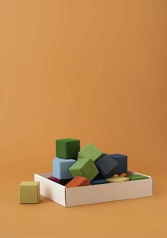 Кубики Earth color Радуга грез
