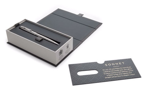 Шариковая ручка Parker Sonnet Stainless Steel CT123