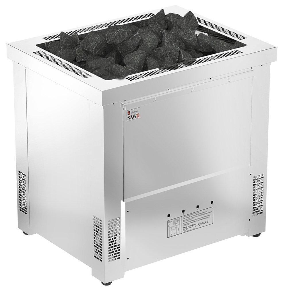 Серия Taurus: Электрическая печь SAWO TAURUS TAU-180NS-G-P (18 кВт, выносной пульт)