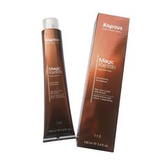 """KAPOUS na 4.00 коричневый интенсивный крем-краска для волос с кератином «non ammonia» серии """"magic keratin"""" 100мл."""