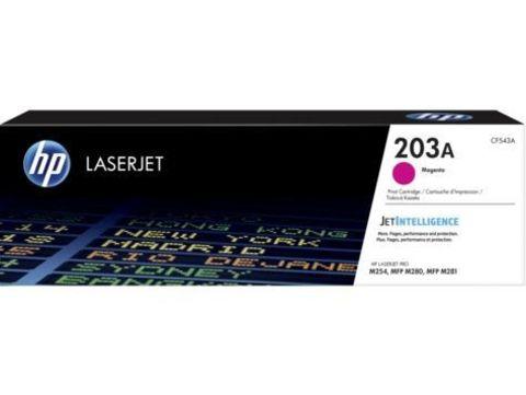 Картридж пурпурный HP 203A Color LaserJet Pro MFP M254/280/281. Ресурс 1300 страниц (CF543A)
