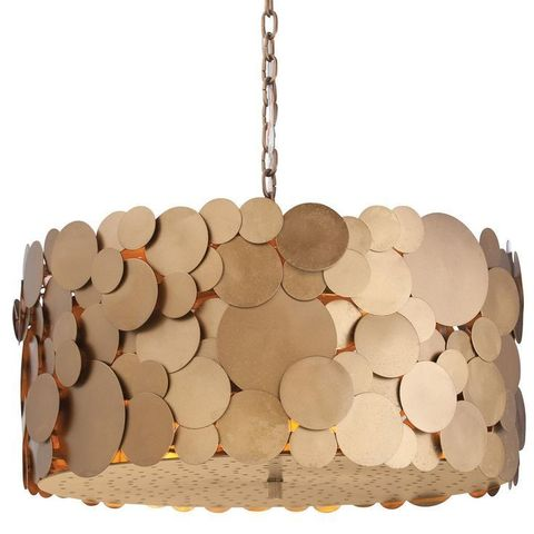 replica light Arteriors Ulysses  Iron Disc Chandelier