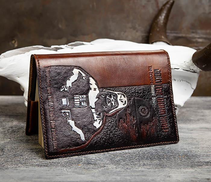 BC201 Ежедневник ручной работы изображением Дарта Вейдера (A5) фото 04