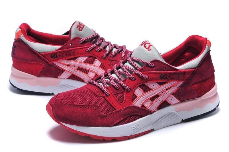 Asics Gel Lyte 5 (Volcano-Red) (001)