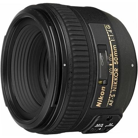 Объектив Nikkor AF-S 50mm f/1.4G для Nikon