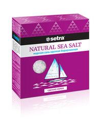 Соль морская «Setra» йодированная крупная 500 г