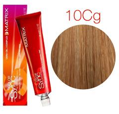 Matrix Color Sync 10CG очень-очень светлый блондин медно-золотистый, тонирующая краска для волос без аммиака 90 мл.