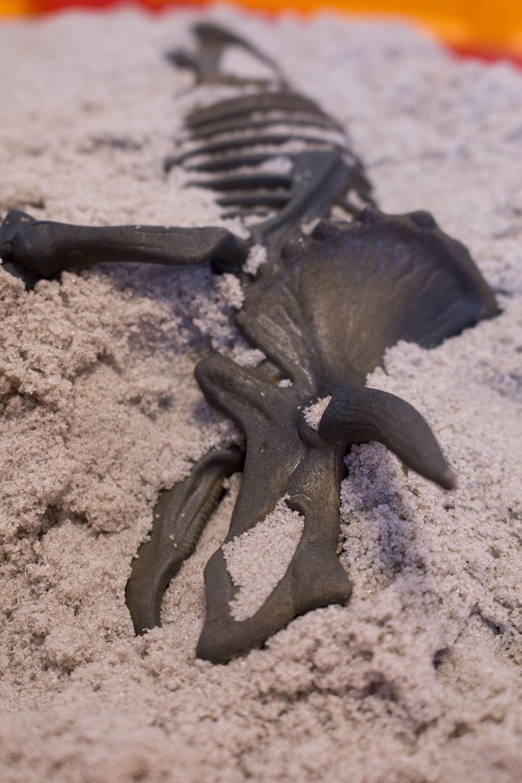 Кинетический песок Трицератопс вабафан