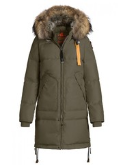 Пуховик Parajumpers Long Bear Elmwood (Зеленый)