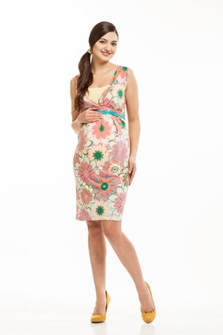 Платье 06195 разноцветный