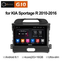 Штатная магнитола на Android 8.1 для KIA Sportage 3 10-16 Ownice G10 S9735E