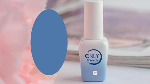Гель-лак Only French, Blue Touch №037, 7ml