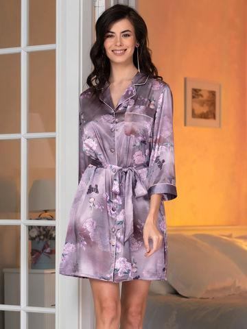 Рубашка халат на пуговицах MIA-Amore АВРОРА