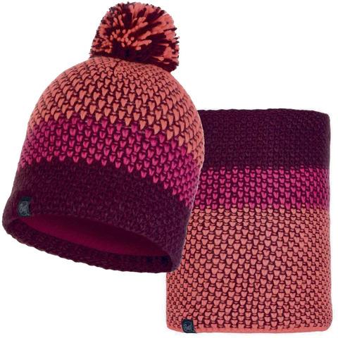 Комплект шапка-шарф Buff Tilda Bright Pink