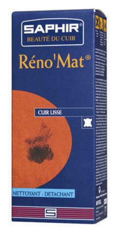 Очиститель для гладких кож Saphir RENOMat флакон, 100мл.