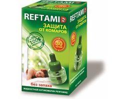 """Жидкость для фумигатора """"Рефтамид"""" без запаха 30ночей 30мл"""