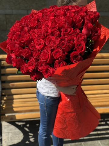 Метровые розы купить