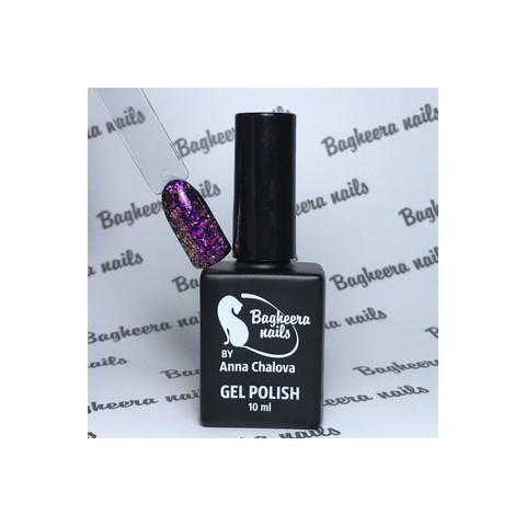 Bagheera Nails BN-74 розово-фиолетовый опал гель-лак 10 мл