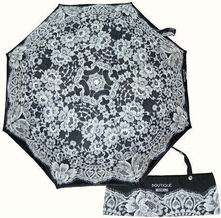 Зонт складной Moschino 7422-A Lace