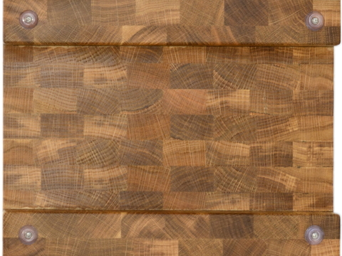 деревянная торцевая разделочная доска с гастроемкостью